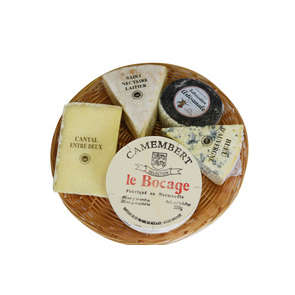 Plateau Cézallier 5 fromages
