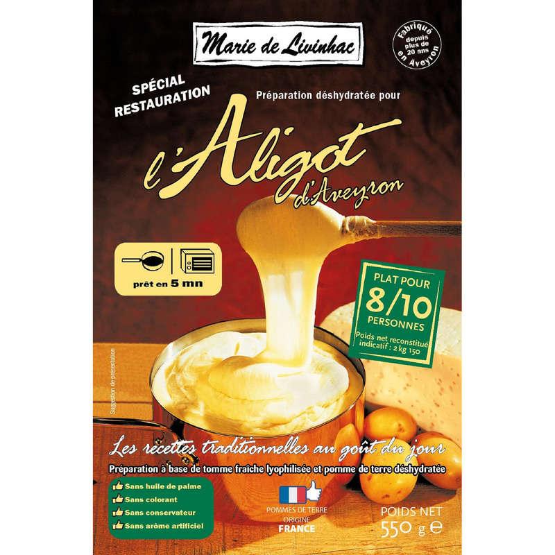MARIE DE LIVINHAC Aligot d'Aveyron - Pour 8/10 personnes - P...
