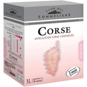 Vin Corse - Alc 12%vol. - Vin rosé