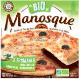 La Pizza de Manosque La Pizza Bio De  - 3 Fromages - Biologique -