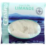 CASINO Filets de limande 500g