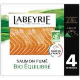Labeyrie LABEYRIE Tranches de saumon fumé - Biologique - x4