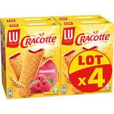LU Lu Cracotte À La Framboise - 4x200g