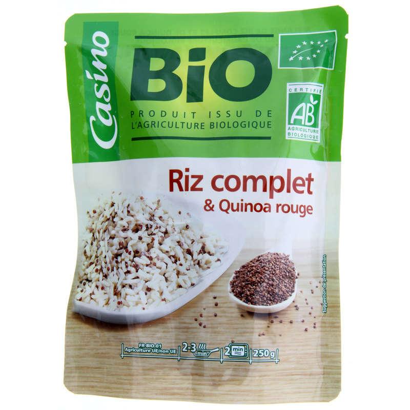 Plat cuisiné - Riz complet et quinoa - Doypack - B