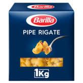 Barilla Pipe Rigate - Pâtes - 1kg