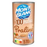 Mont Blanc MONT BLANC Crème dessert praline - 570g