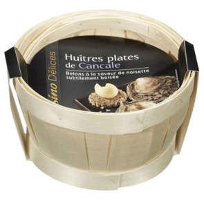 Huîtres plates de Bretagne de Cancale N°1 - x10