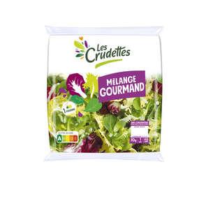 Mélange gourmand - Portion individuelle - Frisée Mâche Chicorée rouge