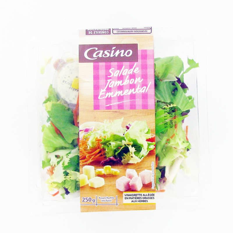 Salade jambon emmental