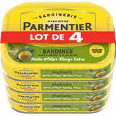 Parmentier Sardines Entières Huiles D'olive -