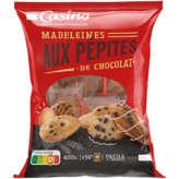 CASINO Les madeleines coquilles - Aux œufs frais -