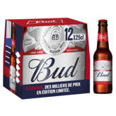 Bud King Of Beers - Bière - 12x25cl