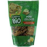 Mini crackers - Emmental et graines de courge - Bi