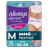 Always ALWAYS Discreet - Underwear - Culotte hygiène - Normal - Tai... - x12