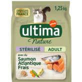 Ultima Nature - Chat Adulte Stérilisé - 1,5kg