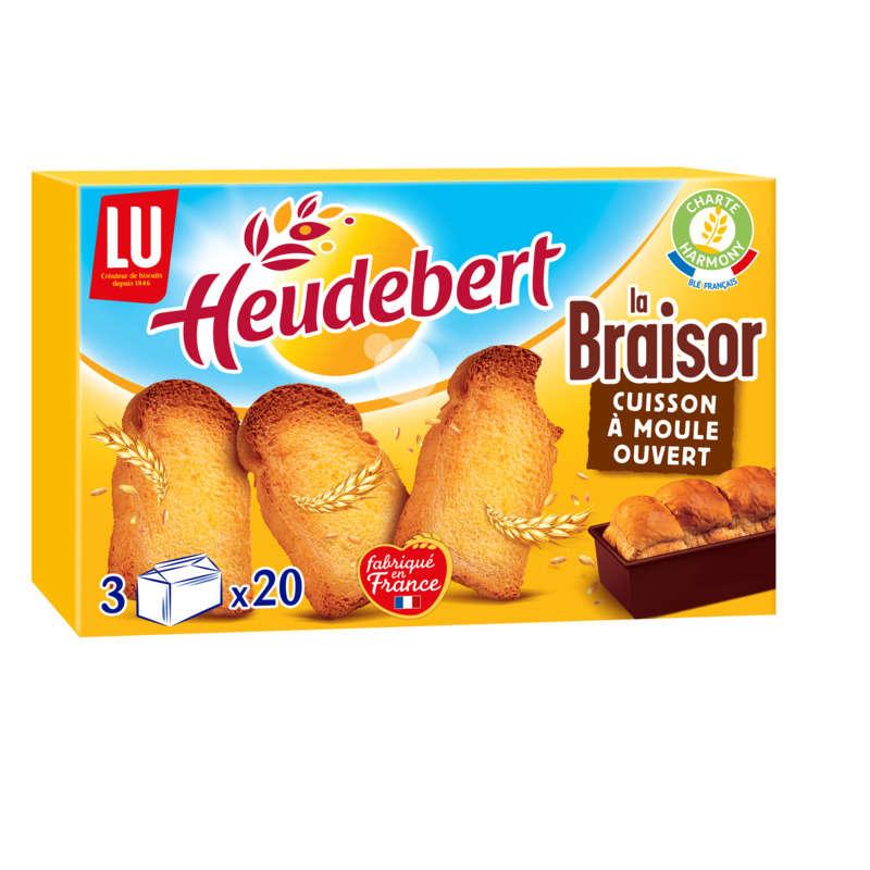 Heudebert - La braisor - Biscottes