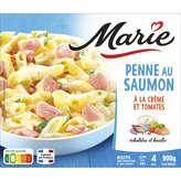 Marie MARIE Penne au saumon - Crème, tomates et basilic - 900g