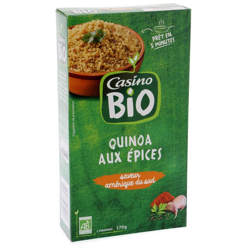 CASINO BIO Quinoa aux épices - Saveur Amérique du sud - Biol...