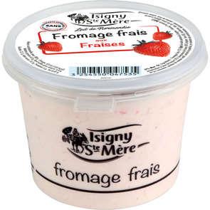Fromage frais aux fraises - 6,5% mg