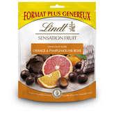 Lindt Sensation Fruit - Chocolat Noir - Orange Pamplemousse... - 160g