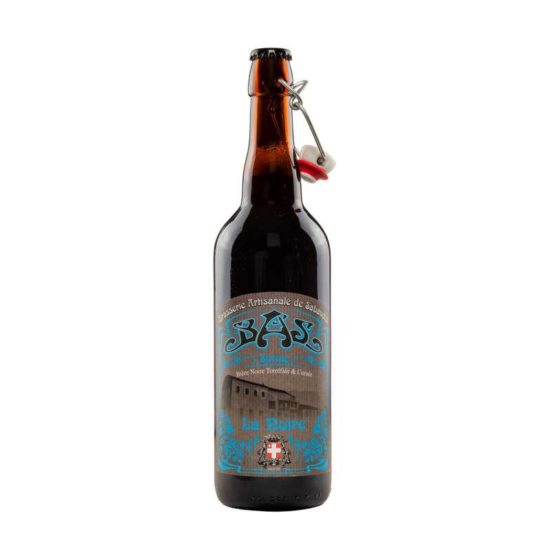 biere noire de savoie 75cl ,alc.4%