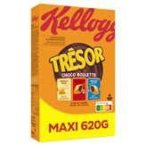 Kellogg's KELLOGG'S Trésor - Choco Roulette - Céréales 3 chocolats - 620g