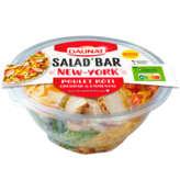 Daunat Salad'bar - New-york - Salade - Poulet & Bacon, Chedd... - 250g