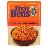 Uncle Ben's Riz Cuisiné 2 Min - Riz Mediteranéen - Pochon - 250g