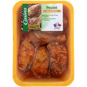 Cuisses de poulets découpées au paprika  - x6