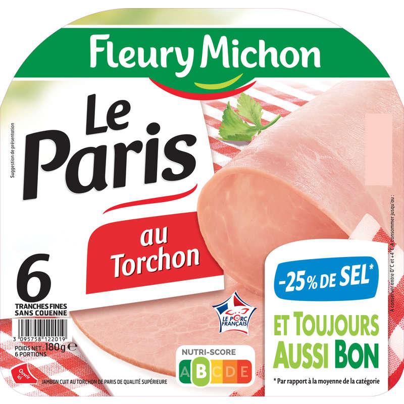 Le Paris au torchon - Tranches fine de jambon ...