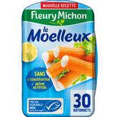 Fleury Michon Le Bâtonnet Moelleux - Surimi - X30 - 480g