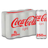 Coca Cola Soda Cola - Light - 8x25cl