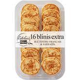 Blini L'ATELIER BLINI Blinis frais au blé tendre - Toast à tartine... - x16