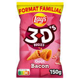 Bénénuts 3d's Bugles - Biscuits Apéritifs - Bacon - 1