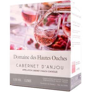 Cabernet d'Anjou - Val de Loire - Domaine des Hautes Ouches - Vin rosé