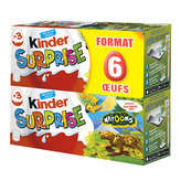 Kinder Kinder Surprise - Œuf En Chocolat - X6