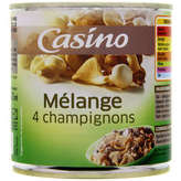 CASINO Mélange 4 champignons 400g