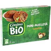 CASINO BIO Moelleux - Noisettes - Au sucre de cann