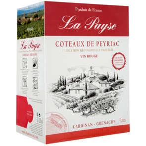Côteaux de Peyriac - la Payse  - Vin rouge