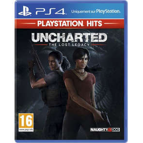 Jeu PS4 Uncharted lost legacy