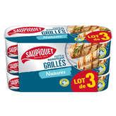 Saupiquet SAUPIQUET Filets de maquereaux grillés - Natures - 3x120g