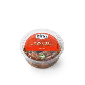 Tapas de poulpes aux tomates Pomodoro