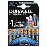 Duracell Piles Ultra Power Aaa X8