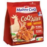 Maître Coq Coq'ailes Nature - Manchons De Poulet Marinés Cui... - 250g