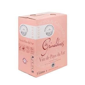 Les Grimaldines - Vin rosé - Vin de Pays du Var