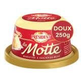 Président La Motte - Beurre - Doux - 82%mg - 250g