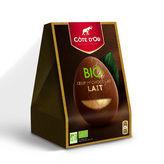 Côte d'Or COTE D'OR Œuf en chocolat - Chocolat au lait - Biologique - 165g