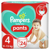Pampers PAMPERS Baby-Dry - Nappy pants - Culottes - Taille 4 - x24