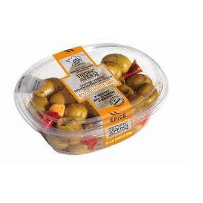 Olives vertes farcies à la chilienne