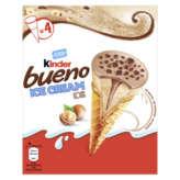 Kinder Kinder Bueno - Ice Cream Box - Cône Glacé - Chocolat Au Lait... - X4